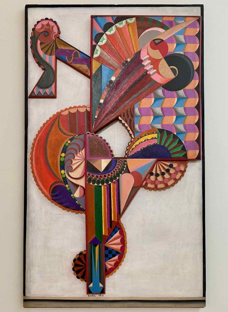 Musee-Matisse-Le-Cateau-Auguste-Herbin-Danseuse-Objet-Monumental-numero-Un