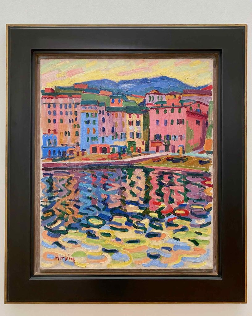 Musee-Matisse-Le-Cateau-Auguste-Herbin-Quai-du-port-de-Bastia