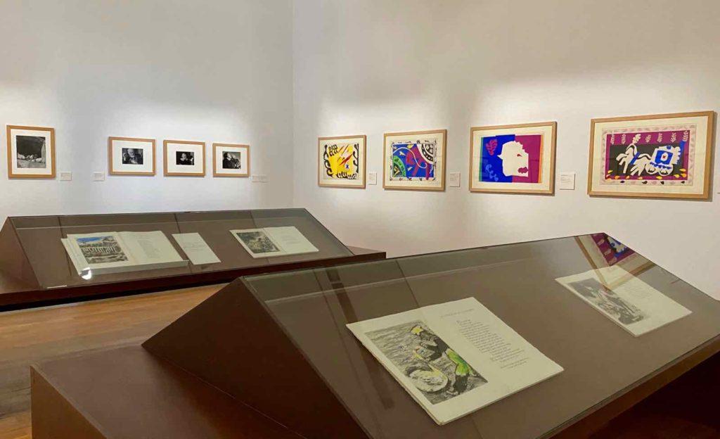 Musee-Matisse-Le-Cateau-Fables-La-Fontaine-illustrees-par-Marc-Chagall-salle-Teriade-vue-ensemble