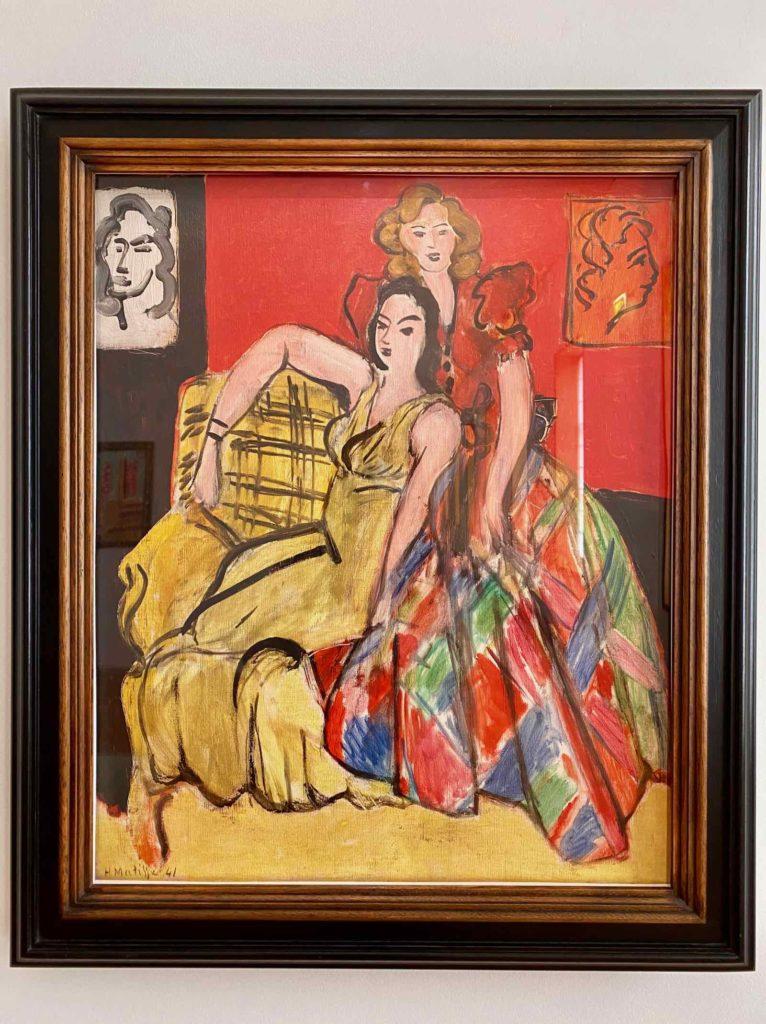 Musee-Matisse-Le-Cateau-Henri-Matisse-Deux-Jeunes-Filles-La-Robe-Jaune-Et-La-Robe-Ecossaise
