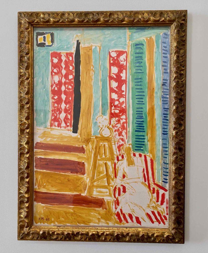 Musee-Matisse-Le-Cateau-Henri-Matisse-Interieur-aux-Barres-de-Soleil