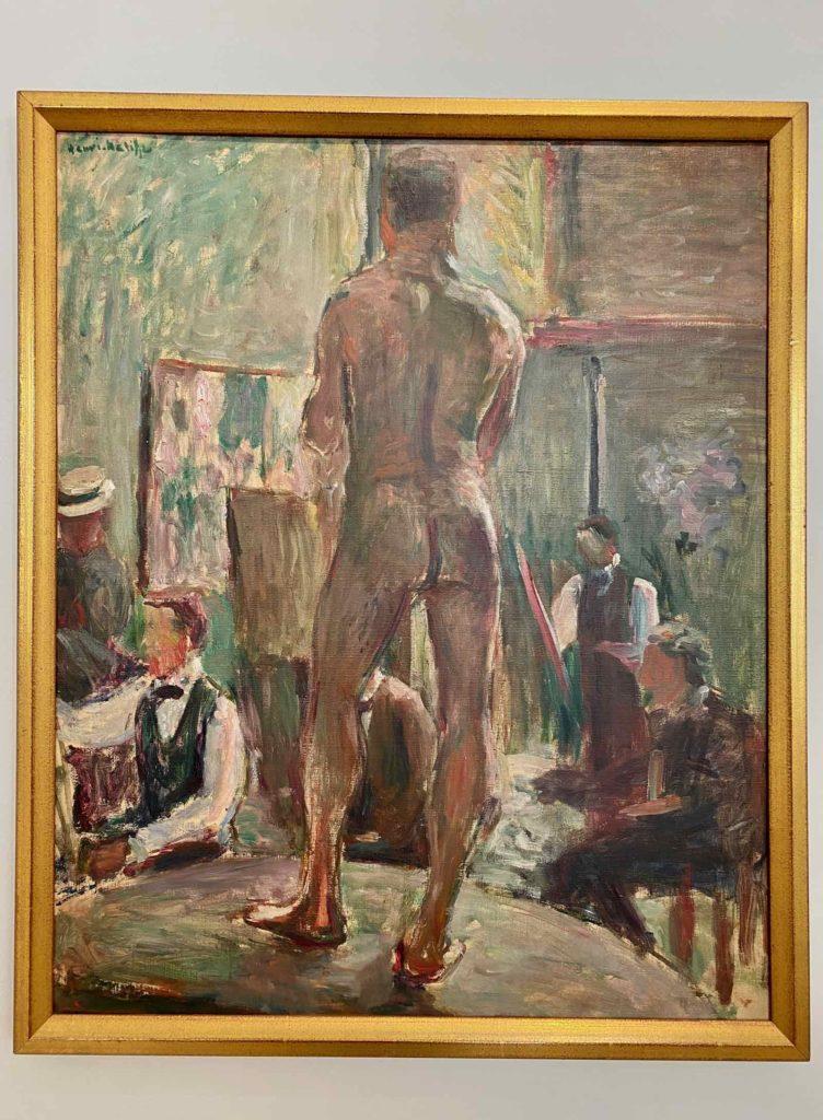 Musee-Matisse-Le-Cateau-Henri-Matisse-Nu-dans-l'Atelier
