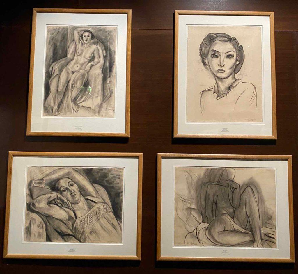 Musee-Matisse-Le-Cateau-Henri-Matisse-des-dessins