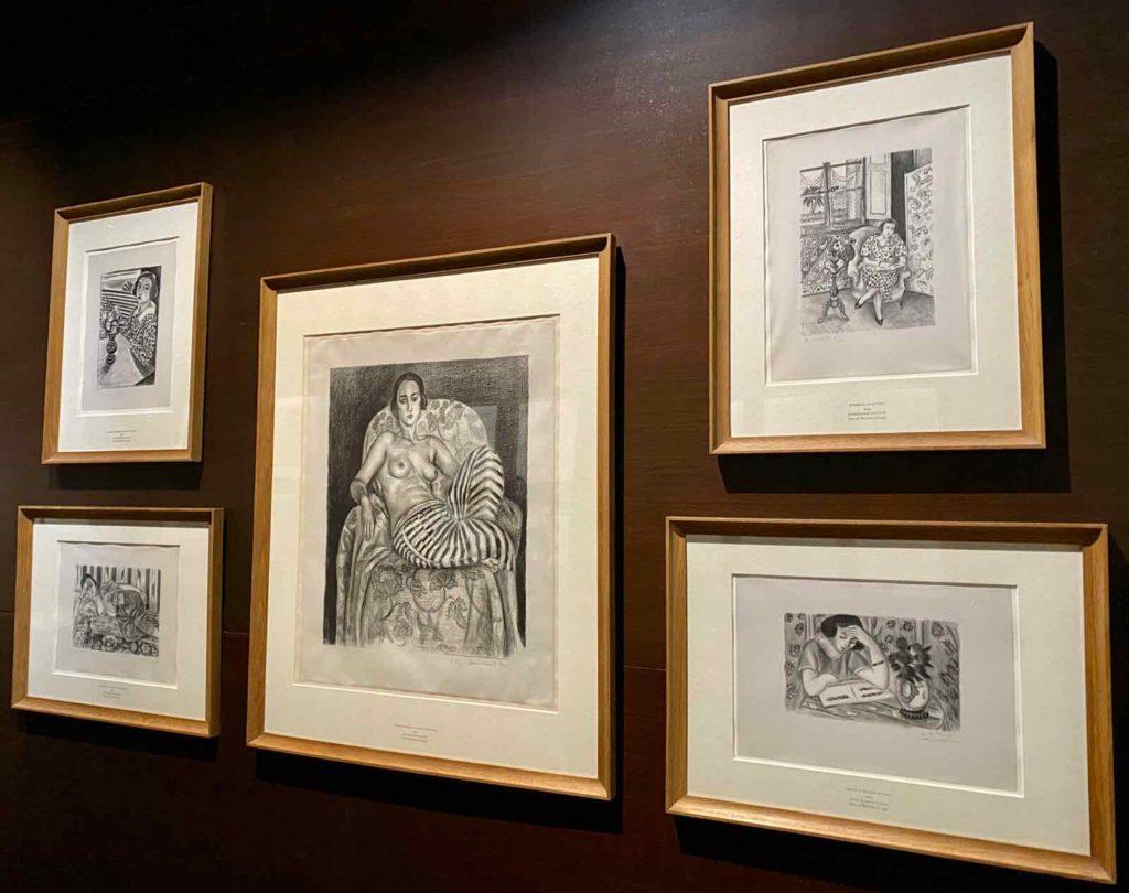 Musee-Matisse-Le-Cateau-Henri-Matisse-dessins