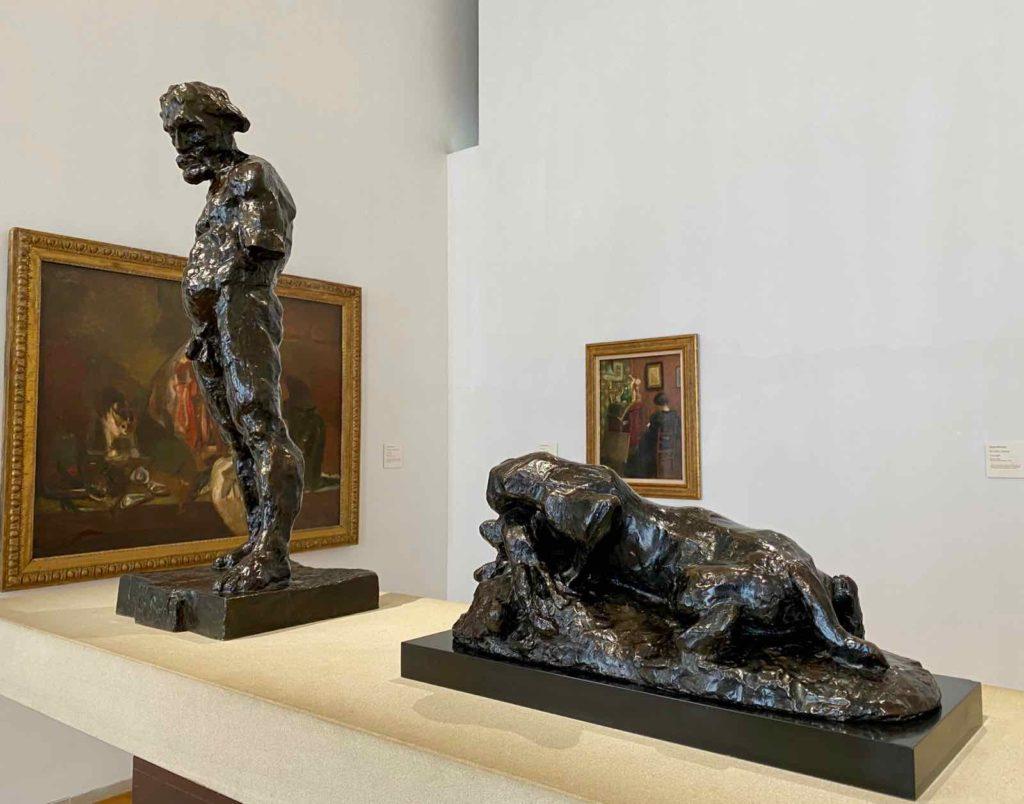 Musee-Matisse-Le-Cateau-Henri-Matisse-deux-sculptures