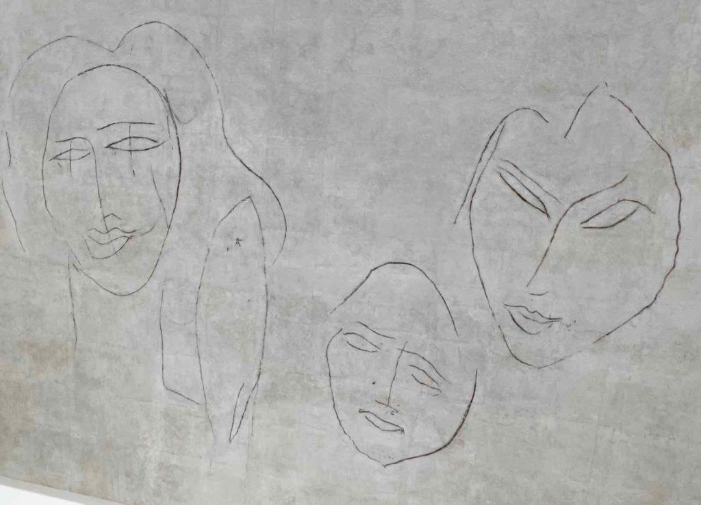 Musee-Matisse-Le-Cateau-Henri-Matisse-plafond-trois-petits-enfants