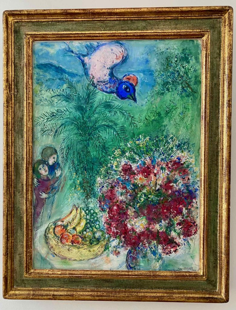 Musee-Matisse-Le-Cateau-Les-Amoureux-au-Bouquet-Marc-Chagall-donation-Alice-Teriade