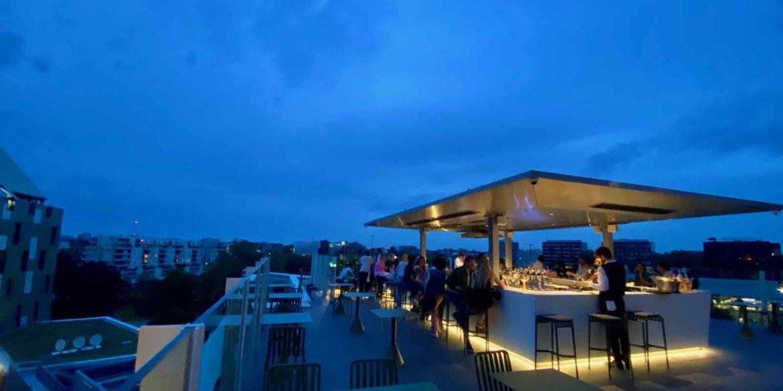 À Lille, Nū, un restaurant au (roof)top !