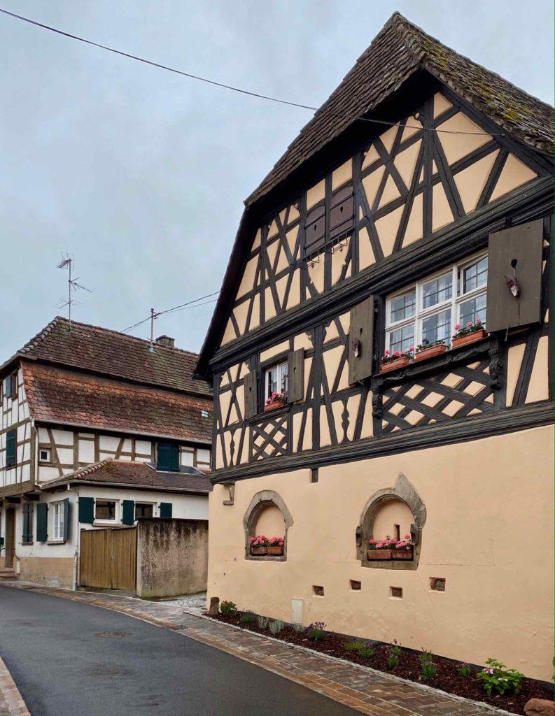 Boersch-deux-maisons-alsaciennes