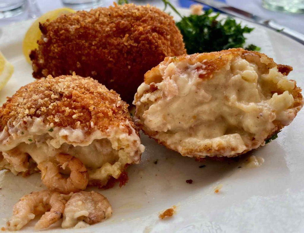 Knokke-Brasserie-Rubens-croquettes-crevettes-ouvertes