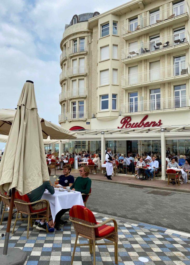 Knokke-Brasserie-Rubens-vue-exterieure