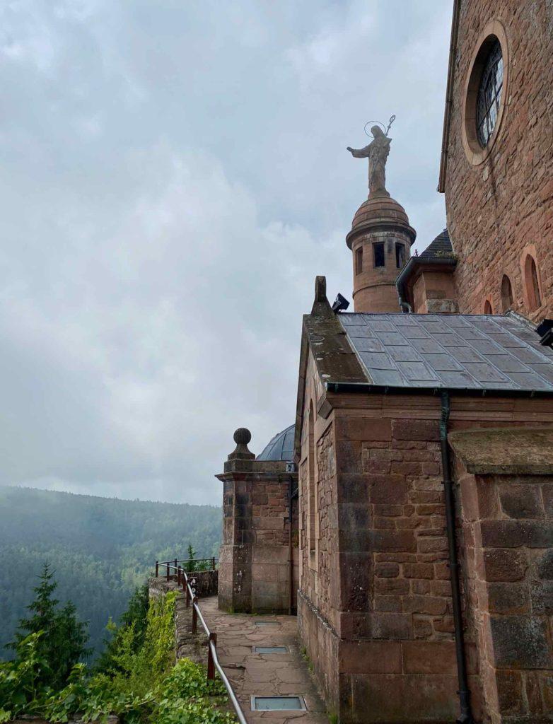 Mont-Sainte-Odile-statue