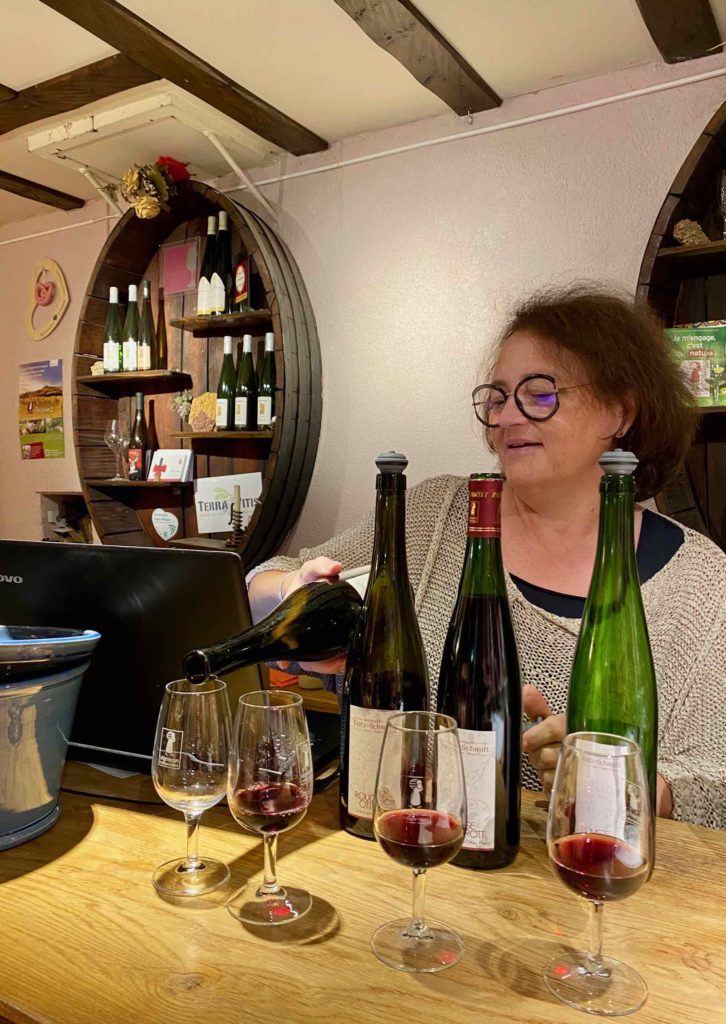 Ottrott-vigneron-Fritz-Schmitt-degustation