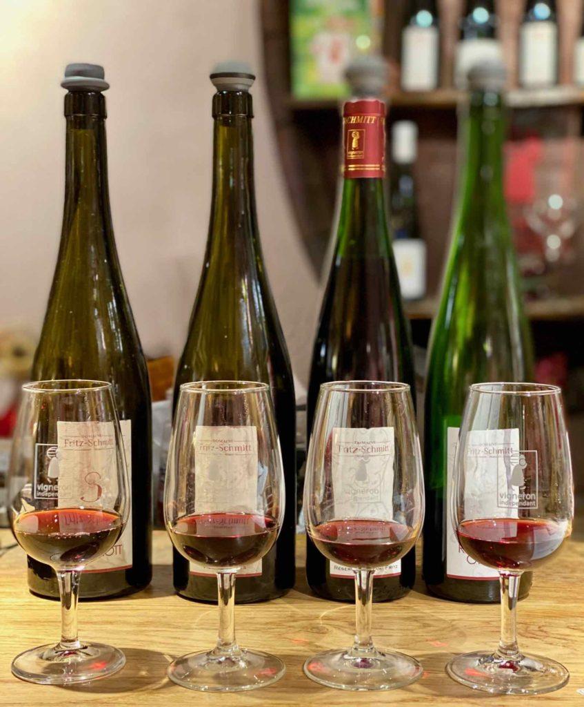 Ottrott-vigneron-Fritz-Schmitt-degustation-quatre-vins