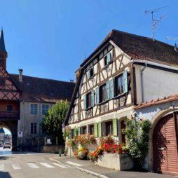 Rosheim-maison-alsacienne-fleurie
