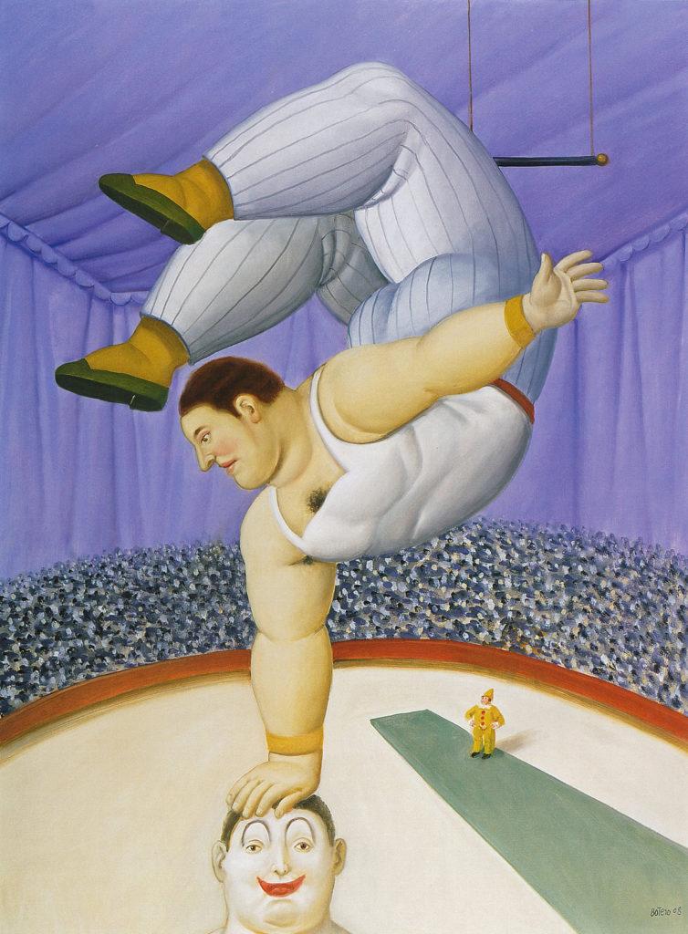 Fernando-Botero-Contorsioniste- 2008