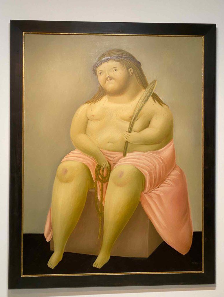 Fernando-Botero-Ecce-Homo-1967-collection-privee-expo-BAM-Mons