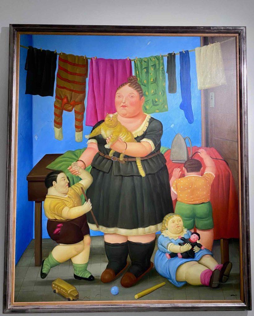 Fernando-Botero-La-Veuve-1997-collection-mprivee-expo-BAM-Mons