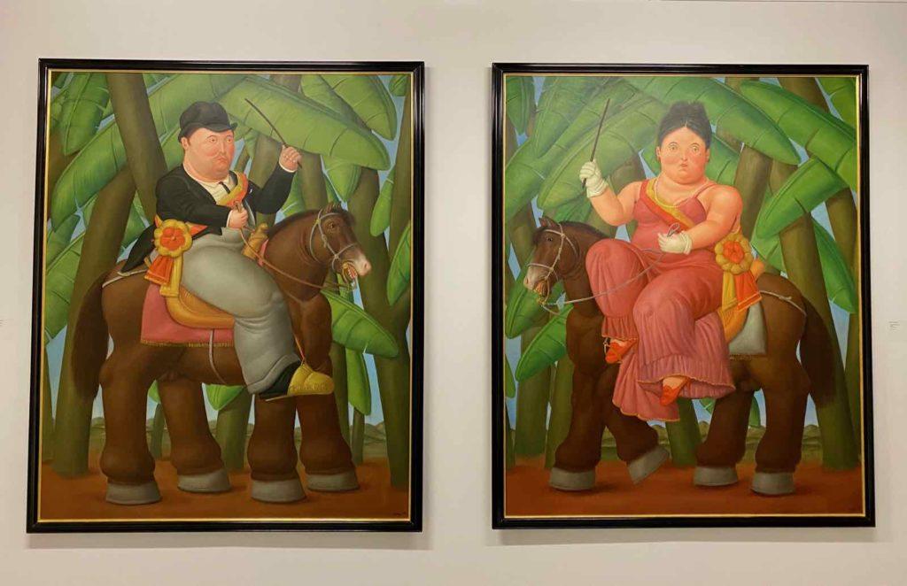 Fernando-Botero-Le-President-et-La-Premiere-Dame-1989-expo-BAM-Mons-
