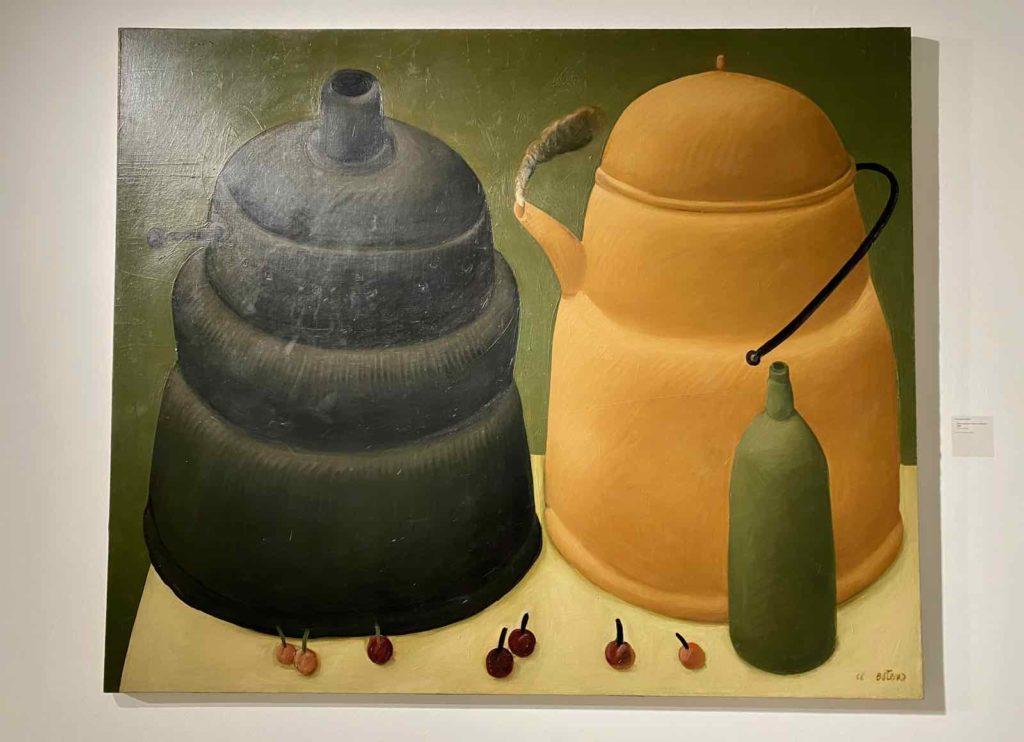 Fernando-Botero-Nature-morte-a-l-eau-bouillante-1966-Fundacion-Llorente-Bogota-expo-BAM-Mons