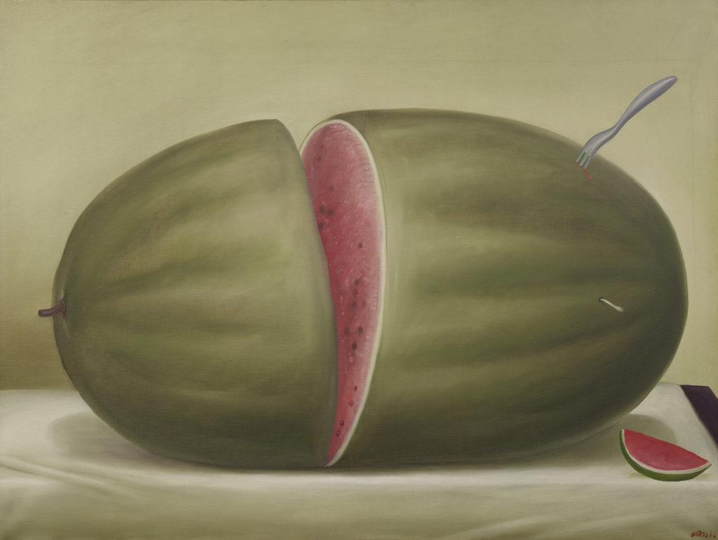 Fernando-Botero-Pasteque-expo-BAM-Mons