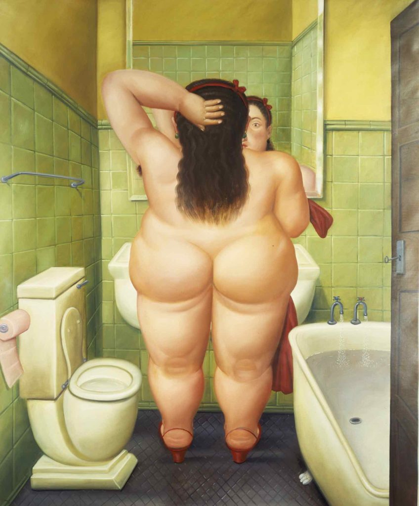 La salle de bain- 1989